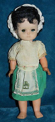 ANTIQUE VINTAGE IRISH SOUVENIR DOLL!! IRELAND CUTE! NEEDS TLC