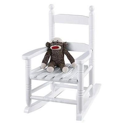 Child's Rocker Holidaybasix Chairs KN-10-W 039678881024