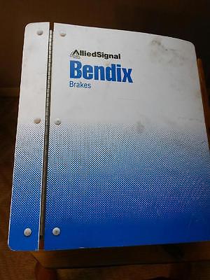 ALLIED SIGNAL BENDIX BRAKES SHOP MANUAL OVER 4