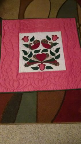 Hand Sewn Floral quilt
