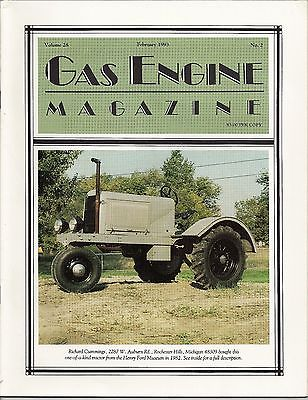 1993 GAS ENGINE MAGAZINE – Air-Cooled Industrial Gasoline Engine