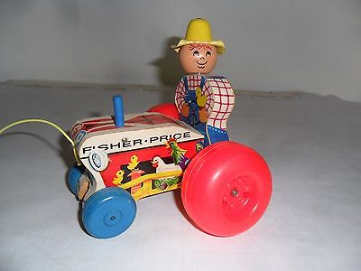 Fisher-Price #629 Tractor pull toy