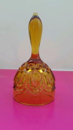 Amber glass bell