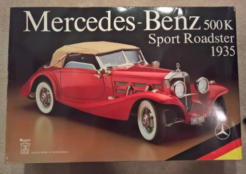 1/8 Pocher unassembled Mercedes-Benz 500K Sport Roadster 1935 sealed