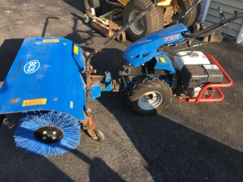 BCS 722 Tractor W/ Snow Blower & Sweeper Attachments