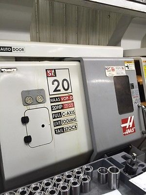 Haas SL-20TAPL CNC Lathe w/ Live Tooling, Auto Parts Loader and much more!