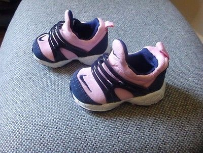 Nike toddler baby girl pink shoes 2C