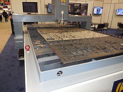 Hypertherm CNC high definition plasma cutter 6 x 20 bed 130 amp, Demo in stock
