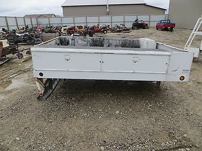 9 1/2 ft. Reading Utility Truck Bed / Service Box / Service Body w/ Battery Box