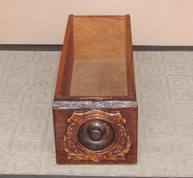 Antique Singer Treadle Sewing Machine Cabinet Drawer