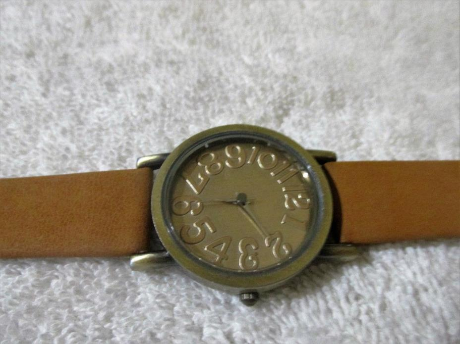 LARGE LETTER WATCH FOR WOMEN OR MEN