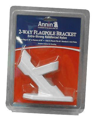 Annin Flagmakers 642629 2-Position Flag Pole Bracket - Quantity 3