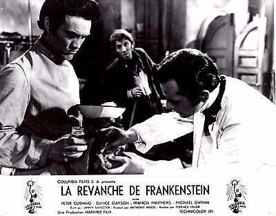 REVENGE OF FRANKENSTEIN Peter Cushing Francis Mathews Rare Orig Hammer Fr LC#1