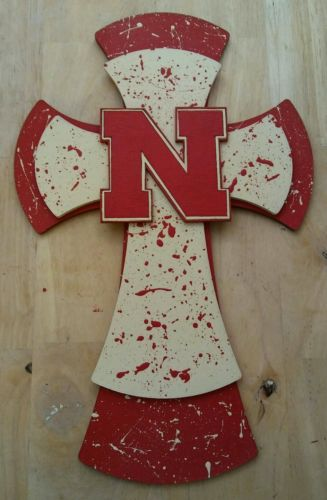 University of  Nebraska Wall Cross