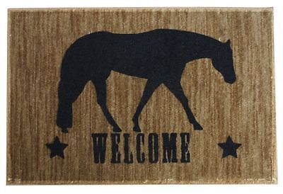 Western Pleasure Horse Floor Mat Western Decor