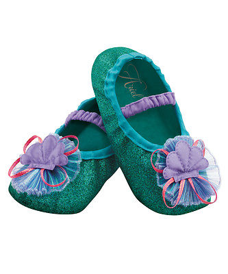 Ariel The Little Mermaid Disney Slippers Toddlers Costume Accessory