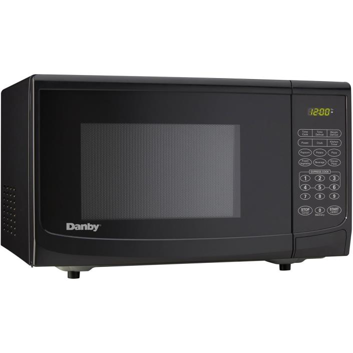 New Danby 0.7 cu. ft. Microwave Oven - Black