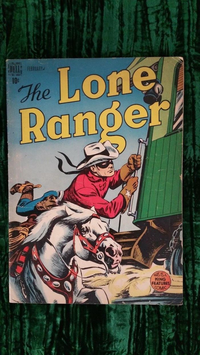 LONE RANGER 8 Golden Age Comic