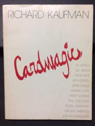 Cardmagic by Richard Kaufman - Soft Bound