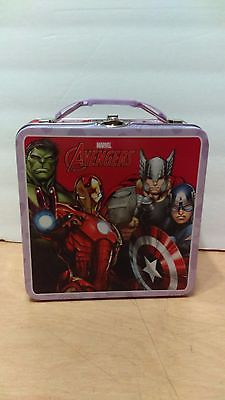 Avengers Metal Tin Lunch Box
