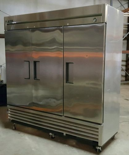 True T-72F Commercial Three Door Freezer Reach In 72 Cu.FT 78