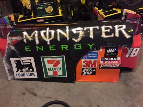 Kyle Busch Monster Energy 54 NASCAR Race Used Sheet Metal