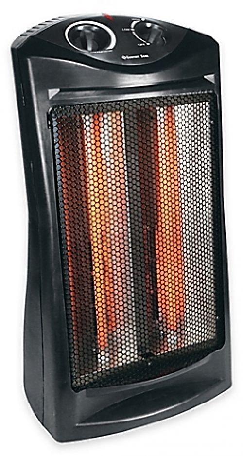 Quartz Radiant Space Heater Large Room Comfort Zone 1,500 Watts Adjustable