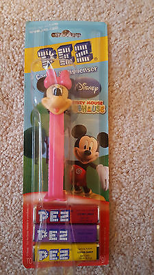 Minnie Mouse PEZ Mint on Mickey Mouse Clubhouse Card