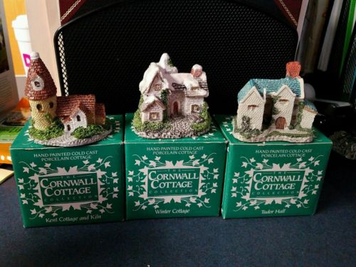 The Cornwall Cottage Collection  1987 Christmas Collectibles