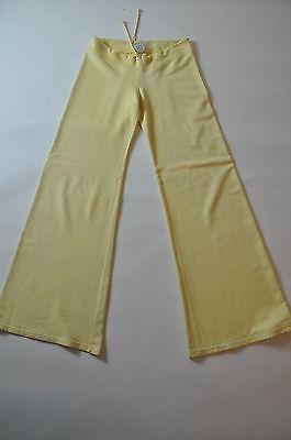 S Wear III Cotton Yellow Sweat Lounge Yoga Sleepwear Comfy Flare Fit Pants