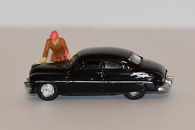 1:64 S Scale Figure and 1949 Mercury Coupe