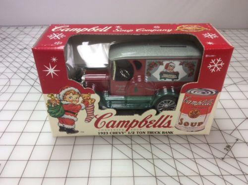 1995 Ertl Bank...Campbell's Soup 1923 Chevy 1/2 Ton Truck, New In Box.