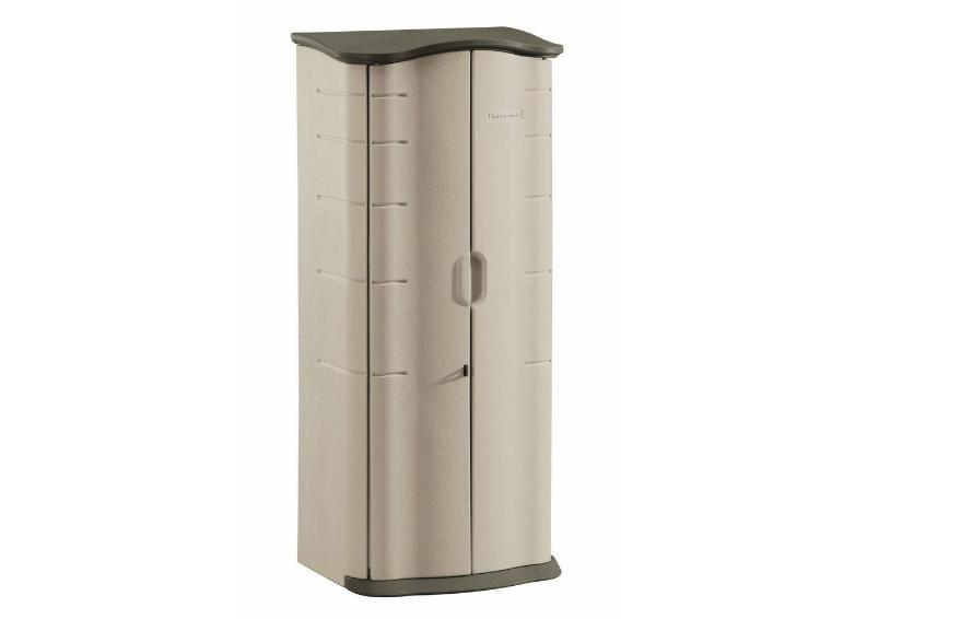 Vertical Storage Shed Outdoor Storage Resin Home Garden Structures Yard Best