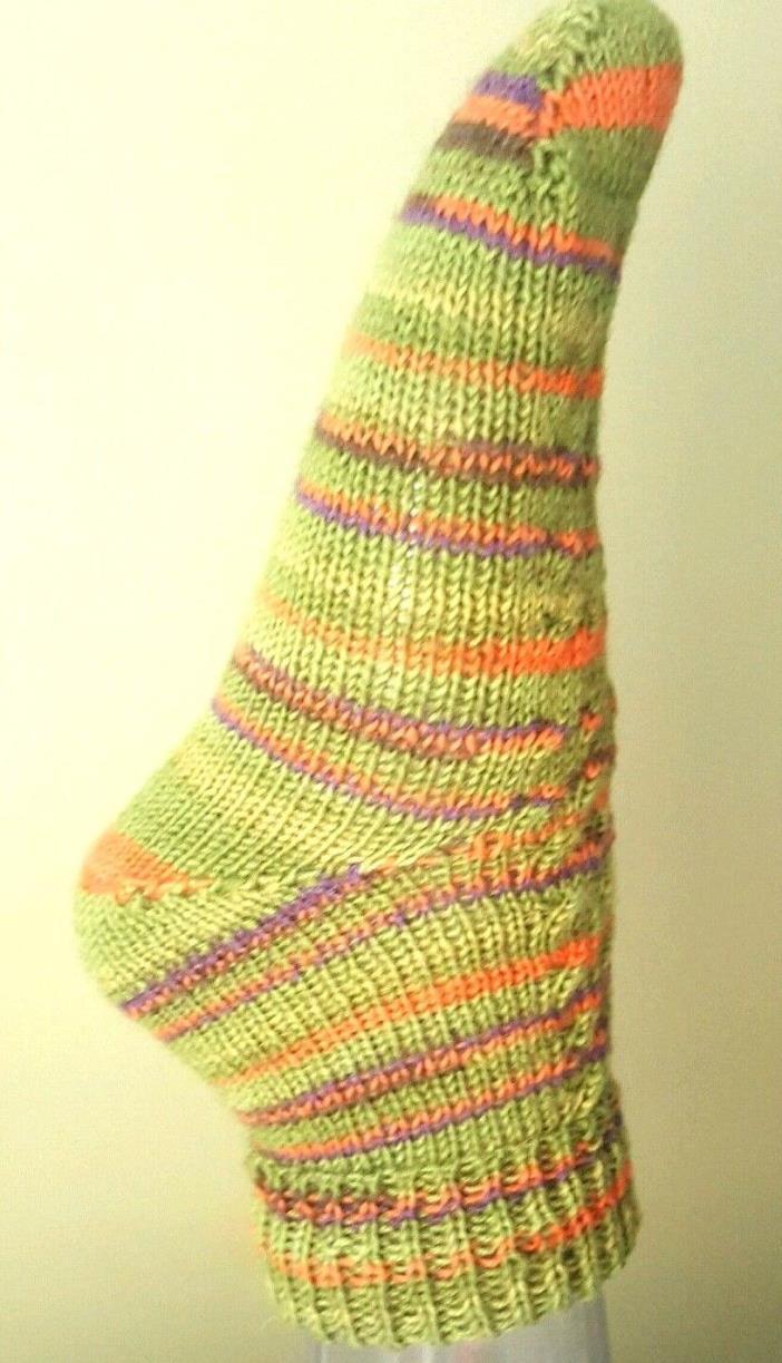 Handmade knitted socks