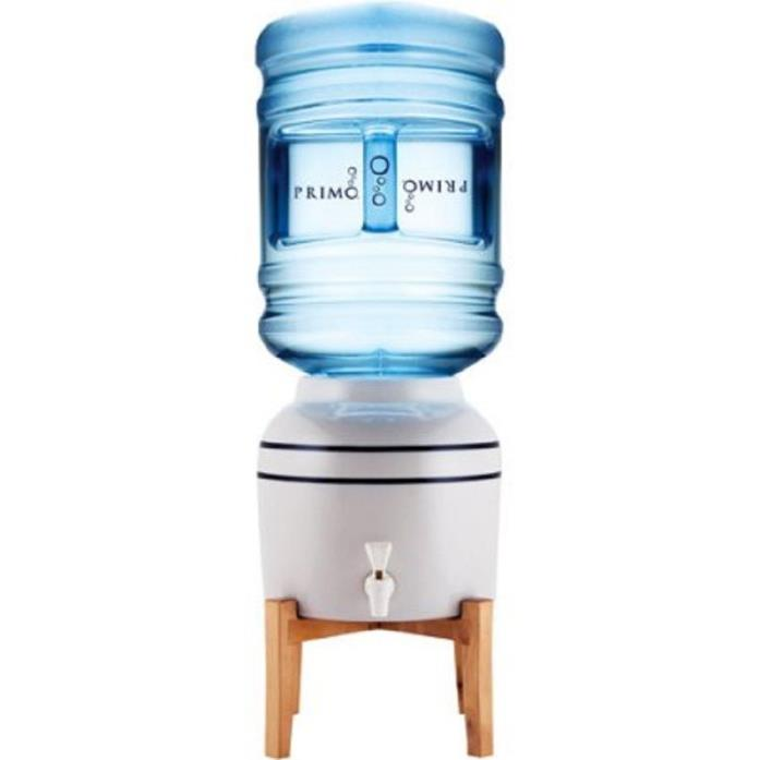Primo Ceramic  Water Dispenser with Wooden Stand