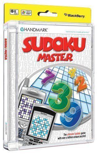 Sudoku Master for Windows Palmos Blackberry Handmark Billion Unique Puzzles New