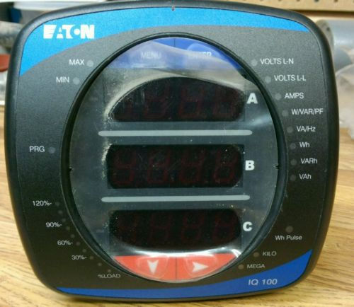 Eaton IQ150MA6510  Power Meter Single Or 3 Phase. Energy Meter