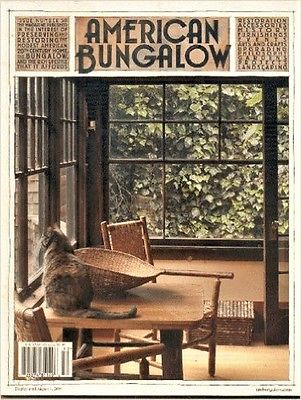 AMERICAN BUNGALOW 50 Brown Shingle Stickley True Craftsman VanOstrand Metal