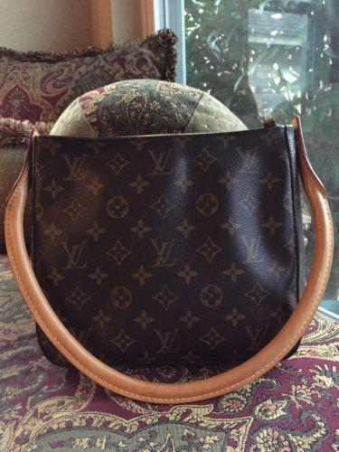 Louis Vuitton • LOOPING BAG • Authentic • Medium MM • Shoulder Bag • US Seller •