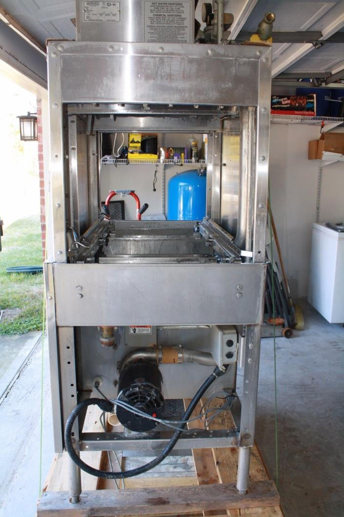 Hobart C44A Commercial Dishwasher and Hatco Booster Heater