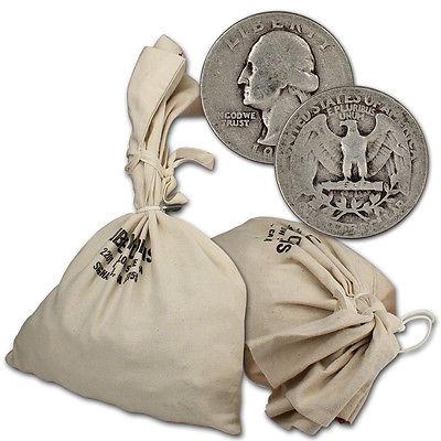 90% Silver Quarters - $1000 Face Value Bag