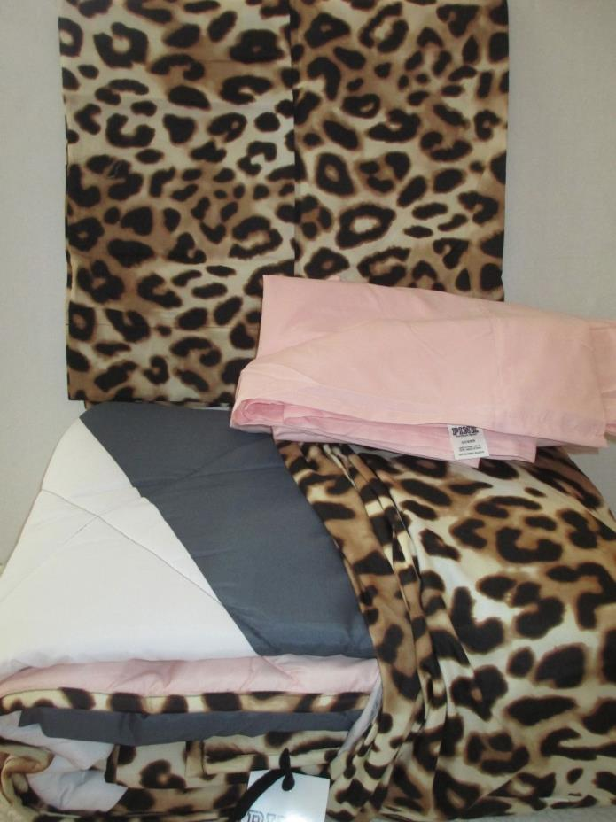 Victoria's Secret Pink comforter Queen Full , queen sheet set, pillowcases New