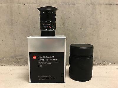 Leica Tri-Elmar-M Aspherical 16-18-21mm f/4 Lens