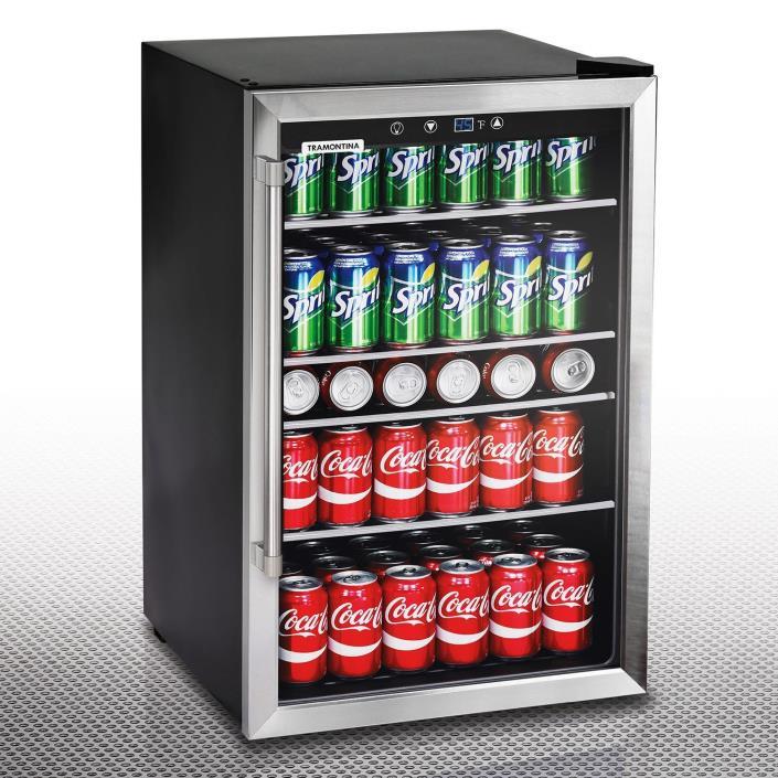 fridge with wine cooler