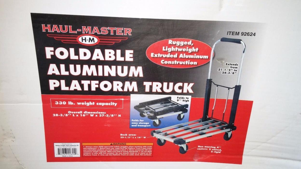 Haul Master Aluminum Rolling Hand Truck