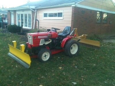 Yanmar 186D Tractor 4W/D Double Snow Plow