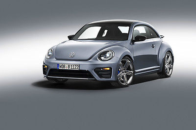 VW OFFICIAL FLASH DRIVE PRESS KIT CC & BEETLE R CONCEPT LA AUTOSHOW 2012
