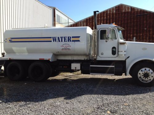 4000 gallon water truck