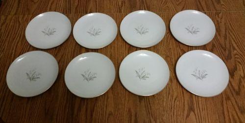 8 Kaysons Golden Rhapsody Bread& Butter Plates