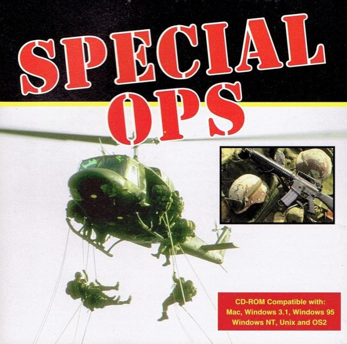 Special Ops - Field Manuals CD-ROM Military Media